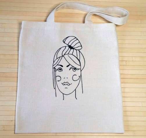 Эко-сумка с оригинальным принтом, эко сумка, ecobag, еко торба