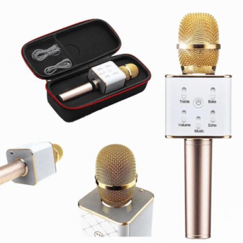 Микрофон караоке Q7 (в чехле)