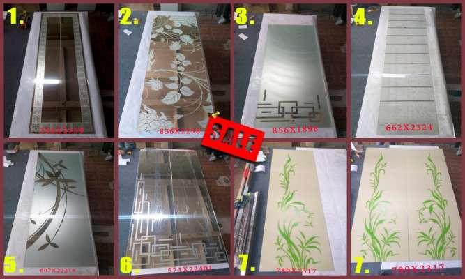 Распродажа выставочных образцов –   зеркал и стекла