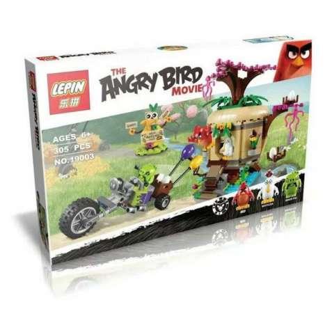 """Конструктор Lepin """"Angry Birds"""" 19003 Воровство яиц на Птичьем острове"""