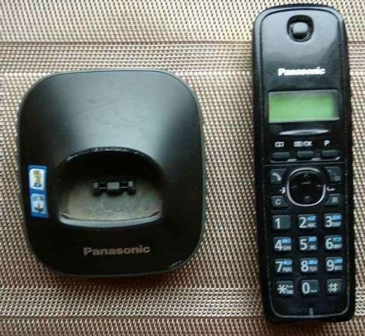 Pадиотелефон panasonic kx-tg1611ua