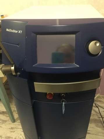 Продам диодный лазер для эпиляции MeDioStar XT