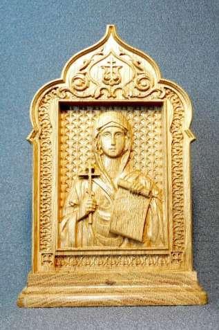 Икона Св. Наталья на постаменте (под заказ)