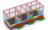 Проектируем и производим батутные арены под заказ любой сложности.