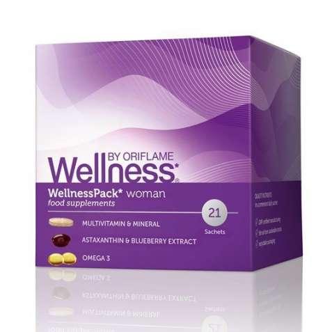 Витаминный комплекс для женщин;для мужчинWellness by Oriflame Орифлейм