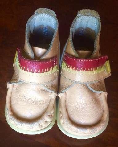Продам кожаные детские ботиночки 19 размера