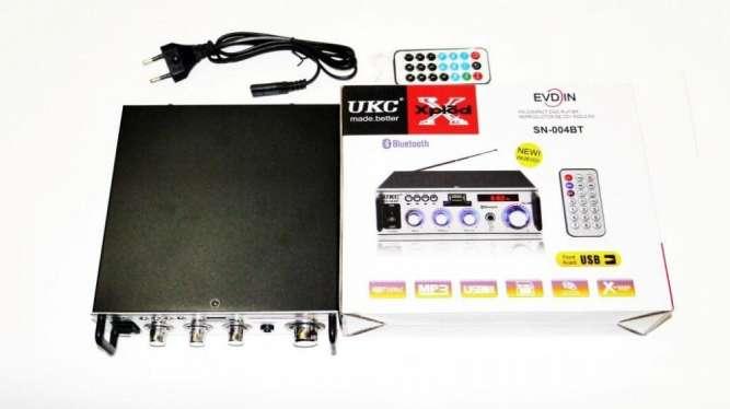 Усилитель UKC SN-004BT - Bluetooth, USB,SD,FM,MP3! 300W+300W Караоке 2
