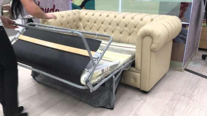 Ремонт дивана типа французская раскладушка, «седафлексов», «фьюжн».