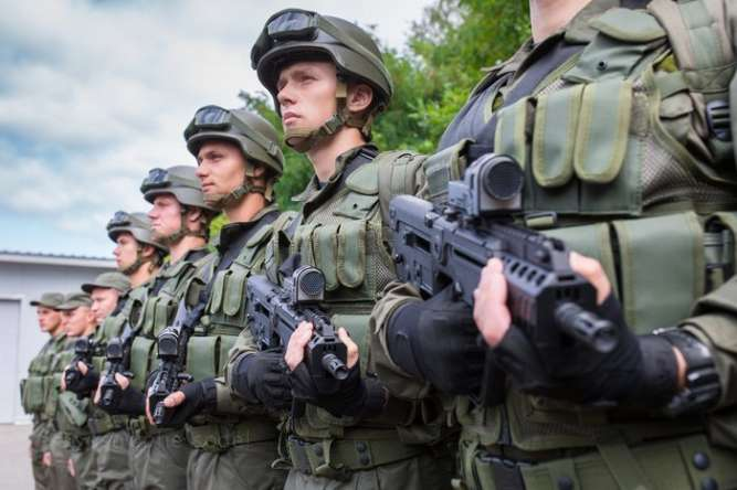 Військовослужбовець Національної Гвардії України