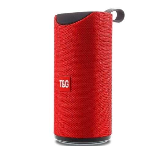 Портативная колонка T&G TG-113 - красная