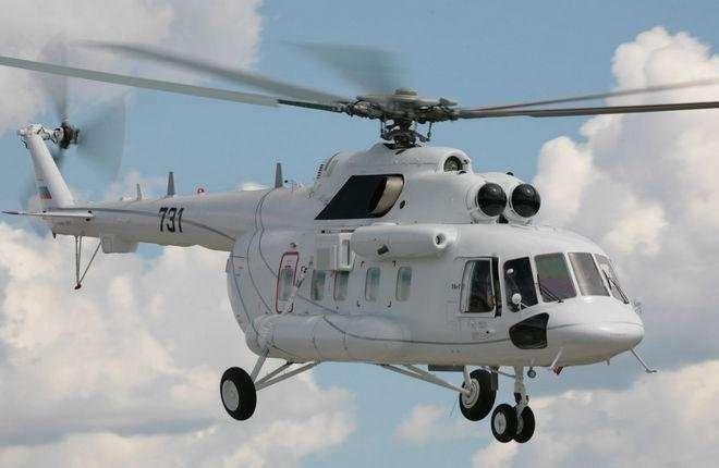 Новые вертолеты Ми-171Е в транспортном варианте