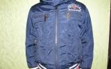 Куртка весна-осень на мальчика 5-7 лет