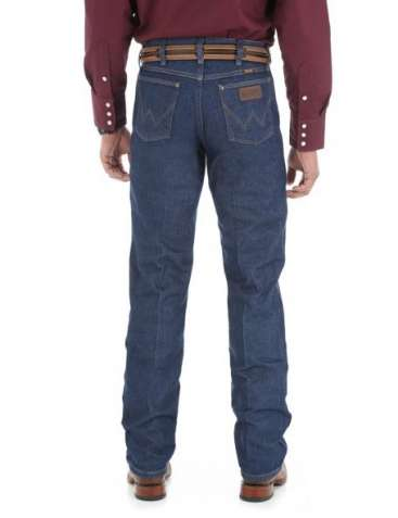 Джинсы Wrangler 47 Cowboy Cut Regular Fit Rigid Indigo Denim 30*34
