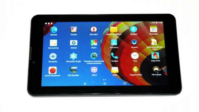 "7"" планшет Samsung Z30 - 4дра, 1/16Gb, 2Sim, Bluetooth, GPS, Android"