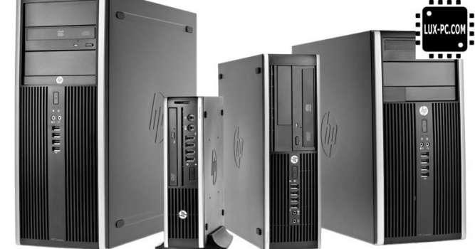 Системный блок HP Compaq 8000 Elite SFF/ E8400 (3.16 ГГц) / RAM 2 ГБ /