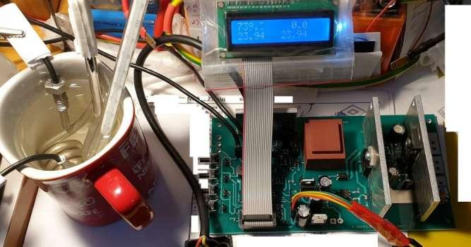 Контроллер для дистиллятора(самогонного)