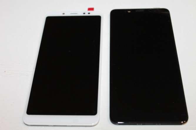 Дисплей тачскрин Xiaomi Redmi 5 Note БЕЛЫЙ, ЧЕРНЫЙ С РАМКОЙ ОРИГИНАЛ!