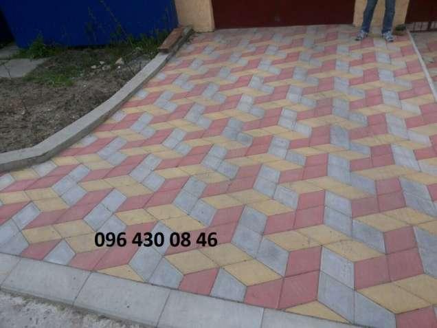 Укладка тротуарной плитки Запорожье