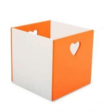 Ящик для хранения игрушек Сердечко, Тучка 4 цвета Sweet Baby 40000500