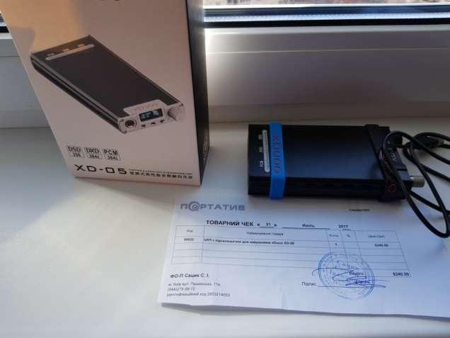 Xduoo xd-05 цап з підсилювачем