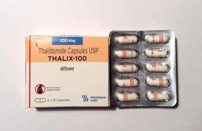 Таликс талидомид 100 мг аналог Мирин Thalix