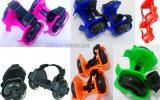 Ролики детские на пятку Flashing Roller светящиеся колеса полиуретан