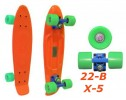 Penny 22-B X-5 пенни лонгборд скейт 56см Cruiser Fish skate board title=