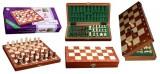 Шахматы магнитные Стаунтон Кр 5,5см 578г доска дерев. Intarsia 27х27см