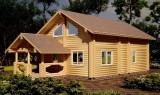 Будуємо дерев'яні будинки із карпатського зрубу title=