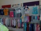 Торговое оборудование б/у (стеллажи и мебель) в магазин детской одежды title=