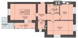 2х-комнатная квартира в Буче ЖК Кампа, новострой. title=
