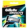 Gillette Mach3 8  картриджей в упаковке title=