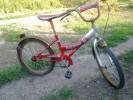Продам детский велосипед  для девочки, колёса на 20