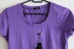 Стильная футболка, фиолетовый