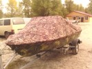Продам комплект лодка Крым2+Yamaha40 (2т – B7HS) на лафете