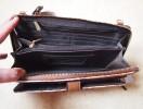 клатч-портмоне несессер с ремешком Parfois
