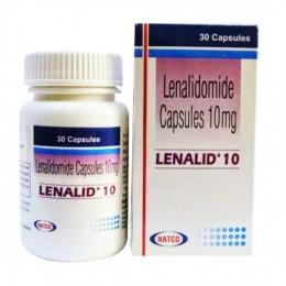 Леналид (Леналидомид) 10 мг. №30,, Натко, Индия title=
