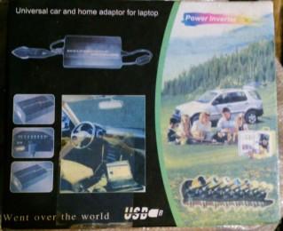 Автомобільний universal laptop ac/dc adapter 100w in dc12v title=
