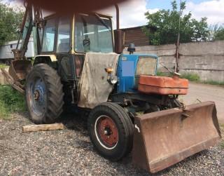 Продаем колесный экскаватор ЭО-2621В с отвалом, ЮМЗ 6 АКЛ, 1993 г.в.