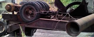 Продаем колесный прицеп-платформу ЧМЗАП-5212А, 60 тонн, 1988 г.в. title=