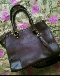 Бардовая сумка