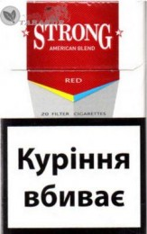 Продам оптом сигареты «Strong»  с украинским акцизом title=