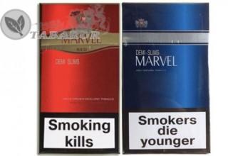 Продам оптом сигареты «Marvel»  с украинским акцизом  title=