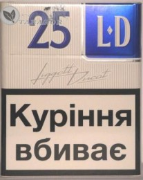 Продам оптом сигареты «LD» (25 шт)  с украинским акцизом title=