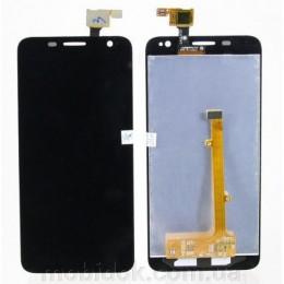 Модуль для мобильного телефона Alcatel OT6012D/OT6012X, черный title=