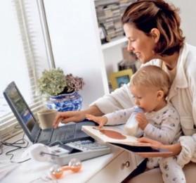 Работа для молодых мам и не только title=