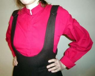 Блузка рубашка новая р. 38 -RESERVED
