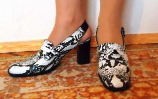 Туфли кожаные (Италия) р. 39