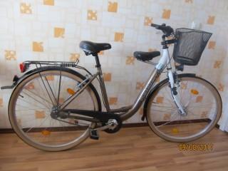 Алюминиевый симейный BBF велосипед с детским седлом.Дамка.28 title=