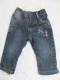 Теплые джинсы штанишки на флисе.74.  title=